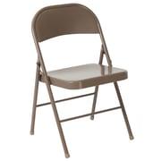 Flash Furniture HERCULES Series Metal Folding Chair, Beige (BDF002BGE)