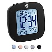 Marathon Compact Digital Alarm Clock, Black (CL030058BK)
