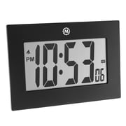 Marathon Digital Frame Clock, Black (CL030064BK)