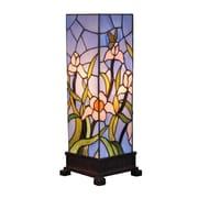 "Amora Lighting Tiffany Style 1 Bulb Table Lamp, 16""H x 16""W (AM1115TL06)"