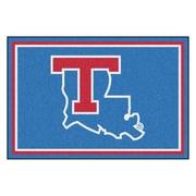 FANMATS Louisiana Tech University Nylon 5x8 Rug, Multi-Colored (20200)