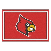 FANMATS University of Louisville Nylon 5x8 Rug, Multi-Colored (20203)
