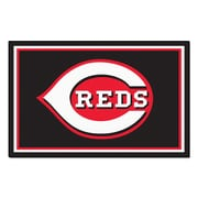 FANMATS MLB - Cincinnati Reds Nylon 5x8 Rug, Multi-Colored (8105)