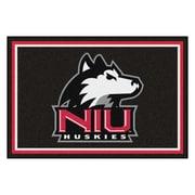 FANMATS Northern Illinois University Nylon 5x8 Rug, Multi-Colored (20235)