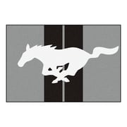 FANMATS Ford - Mustang Horse Nylon 5x8 Rug, Multi-Colored (16658)