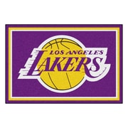 FANMATS NBA - Los Angeles Lakers Nylon 5x8 Rug, Multi-Colored (9299)