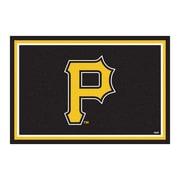 FANMATS MLB - Pittsburgh Pirates Nylon 5x8 Rug, Multi-Colored (7078)