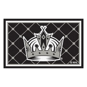 FANMATS NHL - Los Angeles Kings Nylon 4x6 Rug, Multi-Colored (10654)