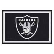 FANMATS NFL - Oakland Raiders Nylon 5x8 Rug, Multi-Colored (6597)