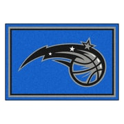 FANMATS NBA - Orlando Magic Nylon 5x8 Rug, Multi-Colored (9363)