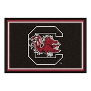 FANMATS University of South Carolina Nylon 5x8 Rug, Multi-Colored (6302)