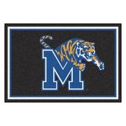 FANMATS University of Memphis Nylon 5x8 Rug, Multi-Colored (20205)