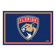 FANMATS NHL - Florida Panthers Nylon 5x8 Rug, Multi-Colored (10545)