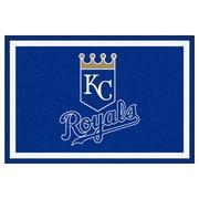 FANMATS MLB - Kansas City Royals Nylon 5x8 Rug, Multi-Colored (7064)