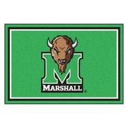 FANMATS Marshall University Nylon 5x8 Rug, Multi-Colored (11929)