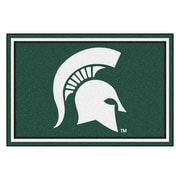 FANMATS Michigan State University Nylon 5x8 Rug, Multi-Colored (20213)