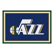FANMATS NBA - Utah Jazz Nylon 5x8 Rug, Multi-Colored (9427)