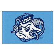 FANMATS University of North Carolina - Chapel Hill Nylon 4x6 Rug, Multi-Colored (6295)