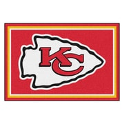 FANMATS NFL - Kansas City Chiefs Nylon 5x8 Rug, Multi-Colored (6585)