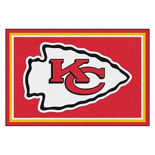 Fanmats Nfl Kansas City Chiefs Nylon 5x8 Rug Multi