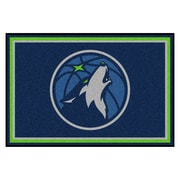 FANMATS NBA - Minnesota Timberwolves Nylon 5x8 Rug, Multi-Colored (9331)