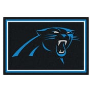 FANMATS NFL - Carolina Panthers Nylon 5x8 Rug, Multi-Colored (6564)