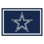 FANMATS NFL - Dallas Cowboys Nylon 5x8 Rug, Multi-Colored (6269)
