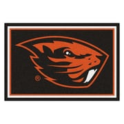 FANMATS Oregon State University Nylon 5x8 Rug, Multi-Colored (20243)