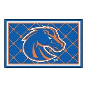FANMATS Boise State University Nylon 4x6 Rug, Multi-Colored (6795)