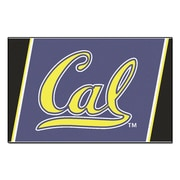 FANMATS University of California - Berkeley Nylon 4x6 Rug, Multi-Colored (6801)