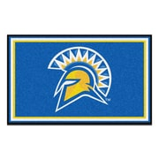 FANMATS San Jose State University Nylon 4x6 Rug, Multi-Colored (6803)