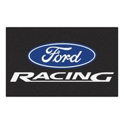 FANMATS Ford - Ford Racing Nylon 4x6 Rug, Multi-Colored (15751)
