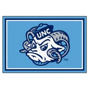 FANMATS University of North Carolina - Chapel Hill Nylon 5x8 Rug, Multi-Colored (6296)