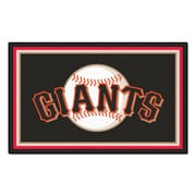 FANMATS MLB - San Francisco Giants Nylon 4x6 Rug, Multi-Colored (7081)