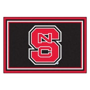 FANMATS North Carolina State University Nylon 5x8 Rug, Multi-Colored (6293)
