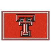 FANMATS Texas Tech University Nylon 4x6 Rug, Multi-Colored (6992)