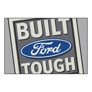 FANMATS Ford - Built Ford Tough Nylon 5x8 Rug, Multi-Colored (15920)