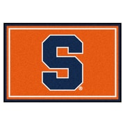FANMATS Syracuse University Nylon 5x8 Rug, Multi-Colored (15950)