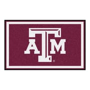FANMATS Texas A&M University Nylon 4x6 Rug, Multi-Colored (6821)