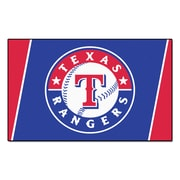 FANMATS MLB - Texas Rangers Nylon 4x6 Rug, Multi-Colored (7089)