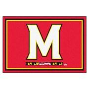 FANMATS University of Maryland Nylon 5x8 Rug, Multi-Colored (6991)