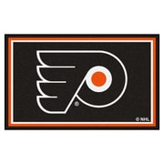 FANMATS NHL - Philadelphia Flyers Nylon 4x6 Rug, Multi-Colored (10489)