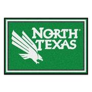 FANMATS University of North Texas Nylon 5x8 Rug, Multi-Colored (19698)