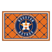FANMATS MLB - Houston Astros Nylon 4x6 Rug, Multi-Colored (7061)