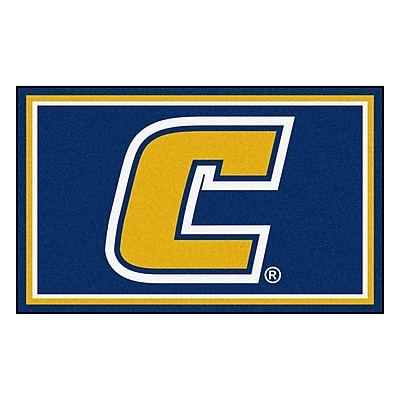FANMATS University Tennessee Chattanooga Nylon 4x6 Rug, Multi-Colored (20128)