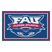 FANMATS Florida Atlantic University Nylon 4x6 Rug, Multi-Colored (20159)