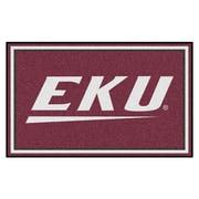 FANMATS Eastern Kentucky University Nylon 4x6 Rug, Multi-Colored (20153)