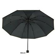 Aerusi UV Protection Compact Travel Folding Umbrella, Lightweight, 44 Inch Arc, Olive Green (UMBLEA006)