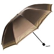 Aerusi UV Protection Compact Travel Folding Umbrella, Lightweight, 44 Inch Arc, Coffee Brown (UMBLEA001)
