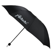 Aerusi UV Protection Compact Travel Easy to Carry Umbrella, Lightweight, 47 Inch Arc, Black (UMBLEA119)